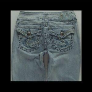 Silver Jeans Suki Surplus BootCut Women 24x31 #249